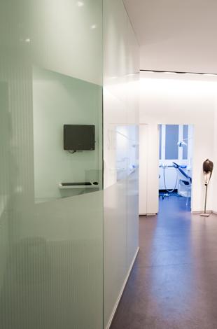 couloir de la salle de soins